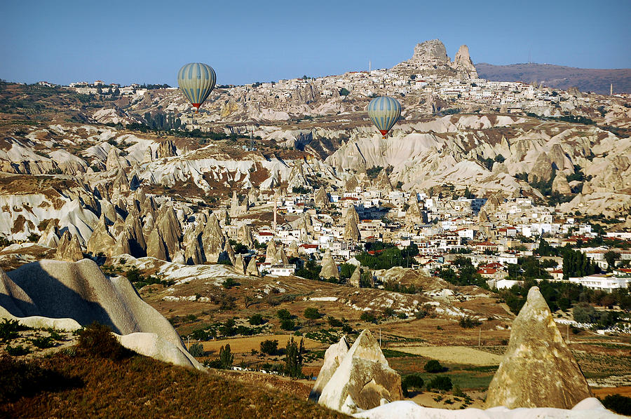 Hot Air Balloons Over Cappadocia Photograph