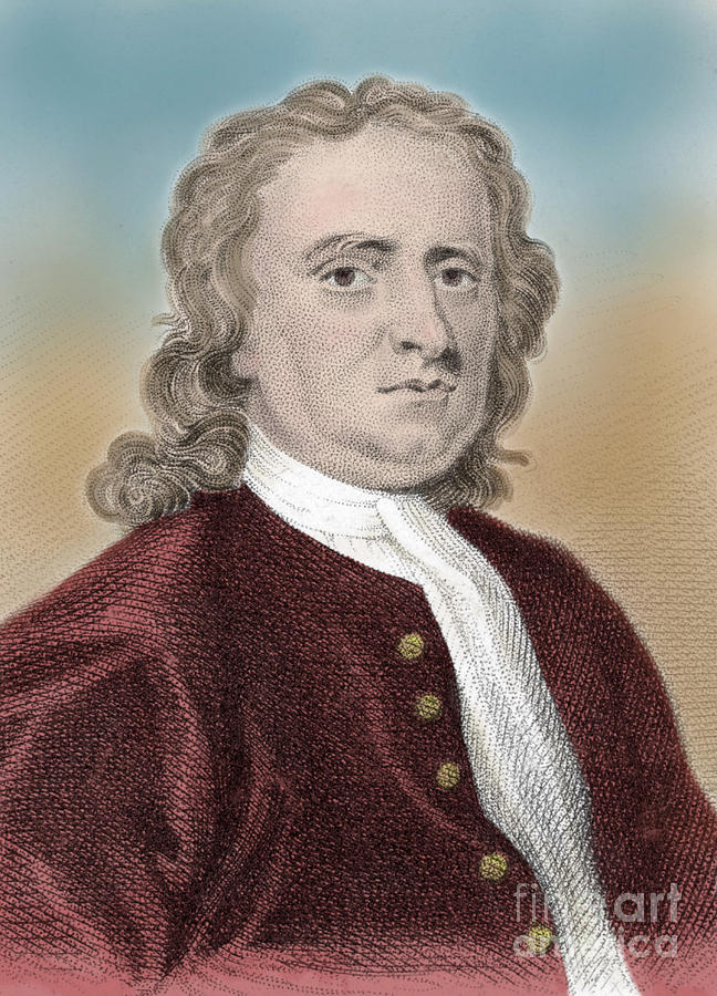 Isaac Newton, English Polymath Photograph  - Isaac Newton, English Polymath Fine Art Print