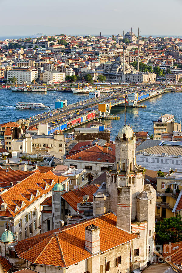 Istanbul Cityscape Photograph