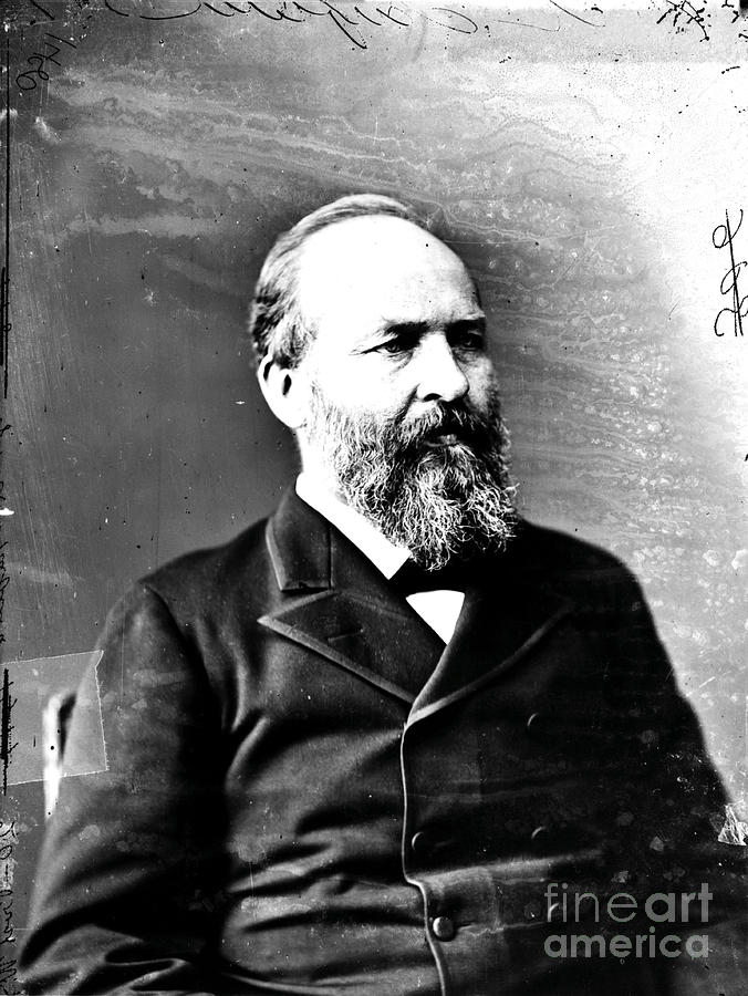 James A. Garfield, 20th American Photograph