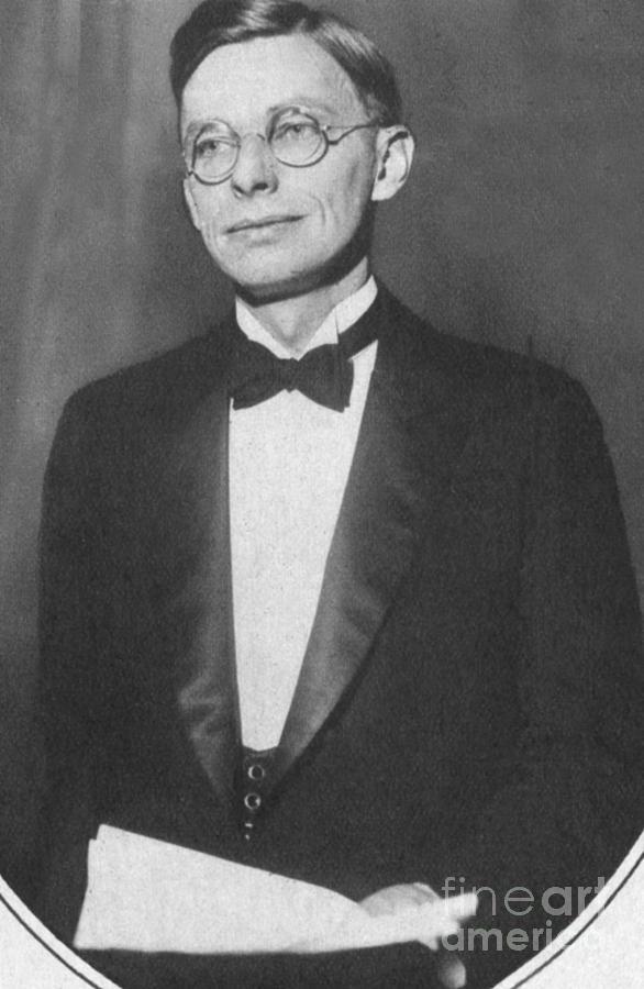 James Bryant Conant, American Chemist Photograph