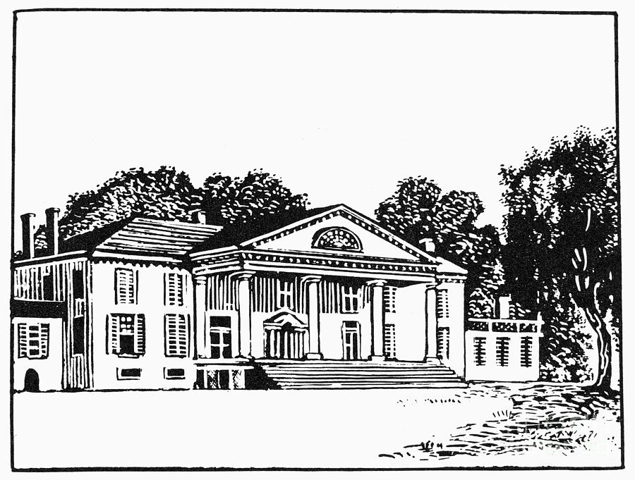 James Madison: Montpelier Photograph