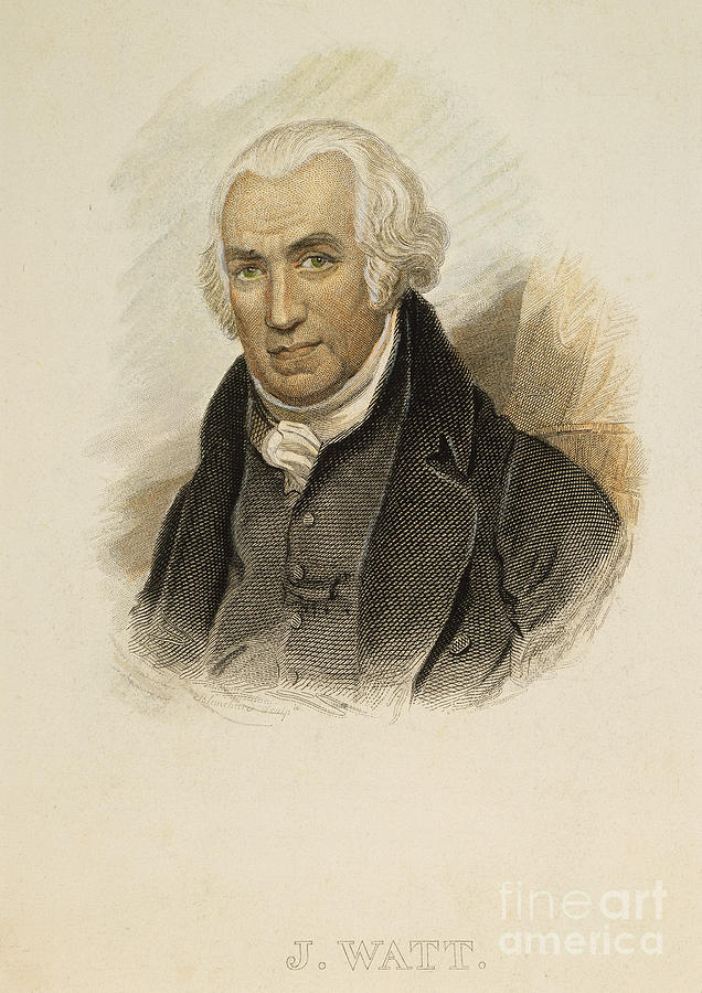 James Watt (1736-1819) Photograph  - James Watt (1736-1819) Fine Art Print