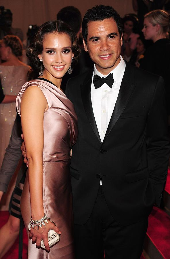 Jessica Alba, Cash Warren At Arrivals Photograph  - Jessica Alba, Cash Warren At Arrivals Fine Art Print