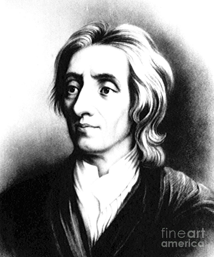 Science Photograph - John Locke, English Philosopher, Father by Science Source