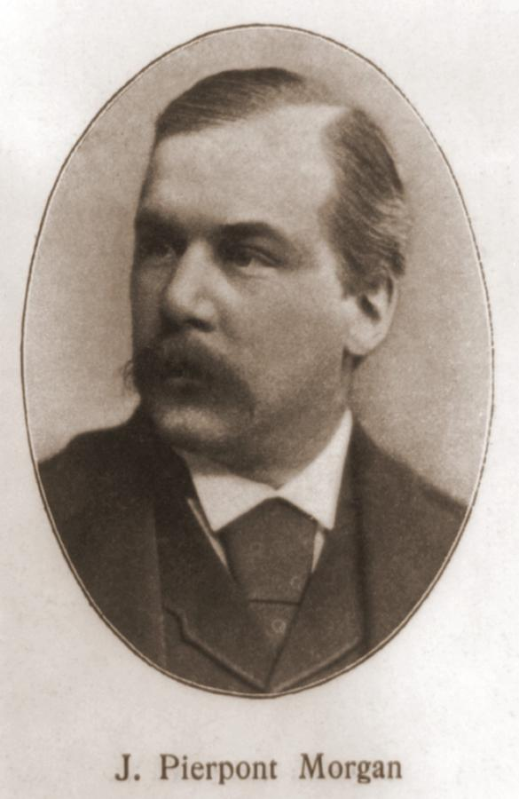 John Pierpont Morgan, 1837-1913 Photograph