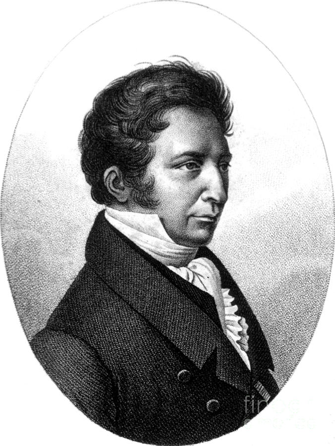 Joseph Gay-lussac, French Chemist Photograph