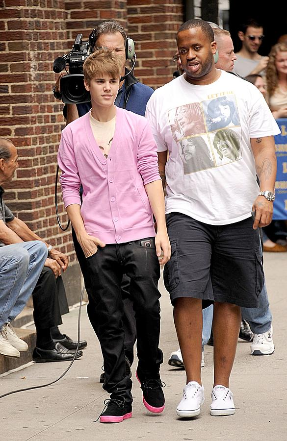 Justin Bieber At Talk Show Appearance Photograph