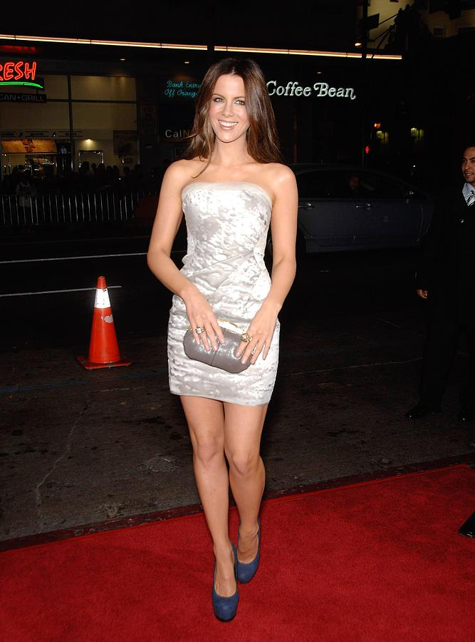 Kate Beckinsale Wearing A J. Mendel Photograph