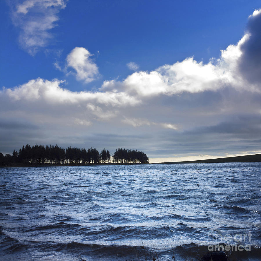 Lake In Auvergne Photograph  - Lake In Auvergne Fine Art Print