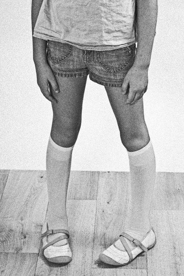 Legs Of A Girl Photograph  - Legs Of A Girl Fine Art Print