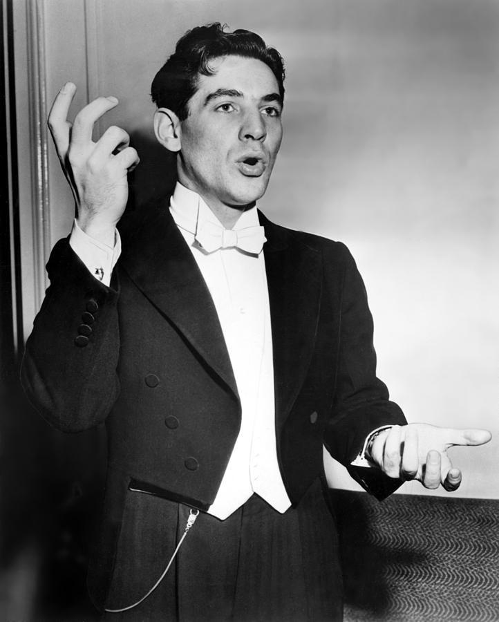 Leonard Bernstein 1918-1990 American Photograph