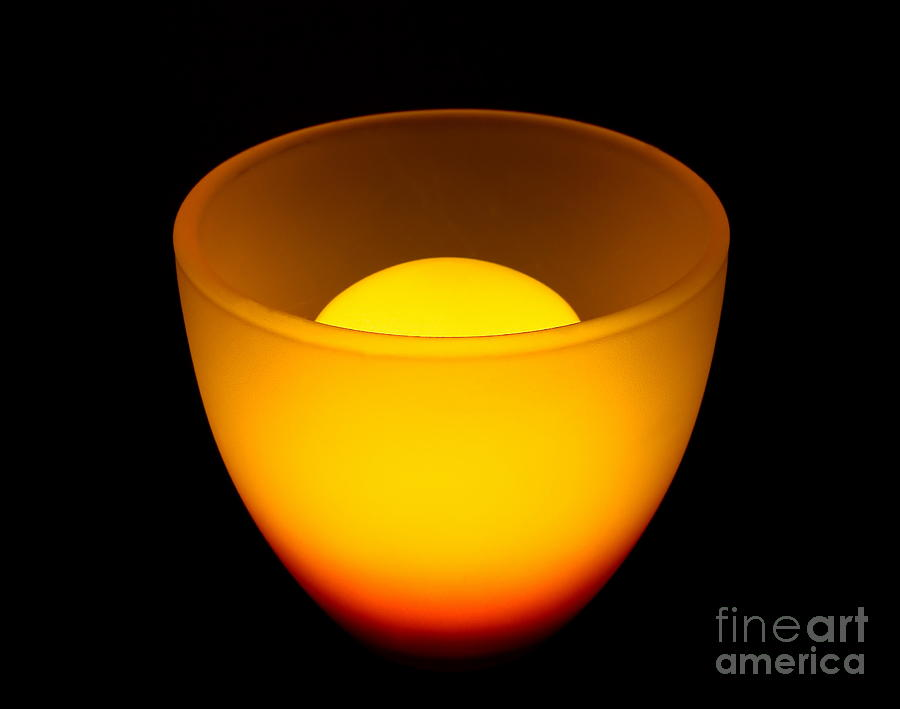 Nature Digital Art - Light Lamp by Odon Czintos