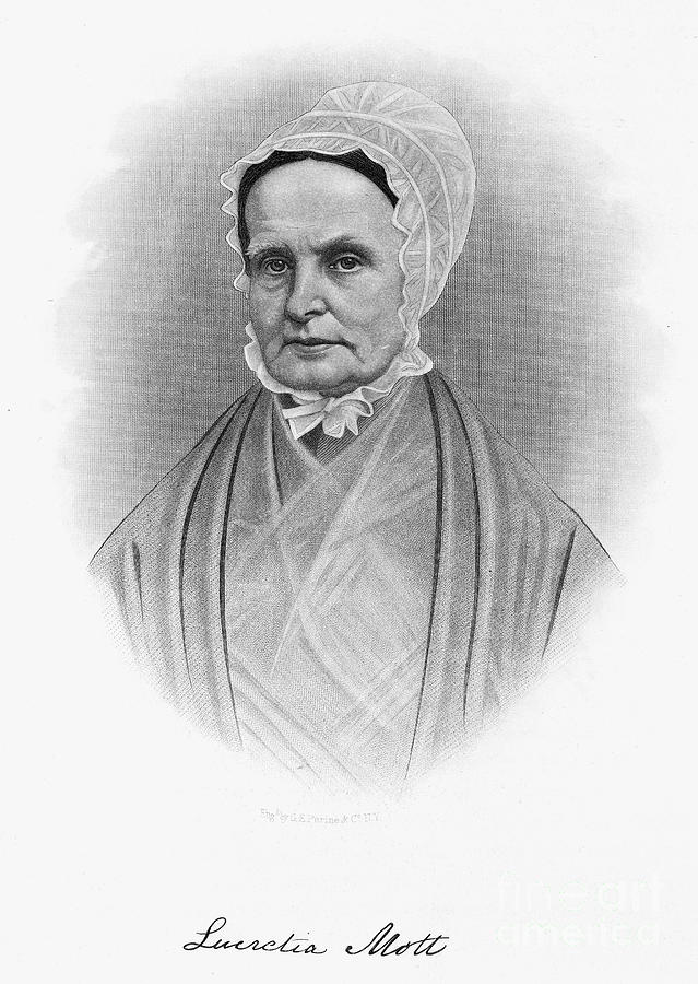 Lucretia Coffin Mott Photograph  - Lucretia Coffin Mott Fine Art Print