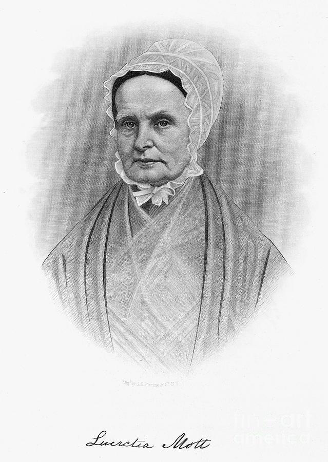 Lucretia Coffin Mott Photograph