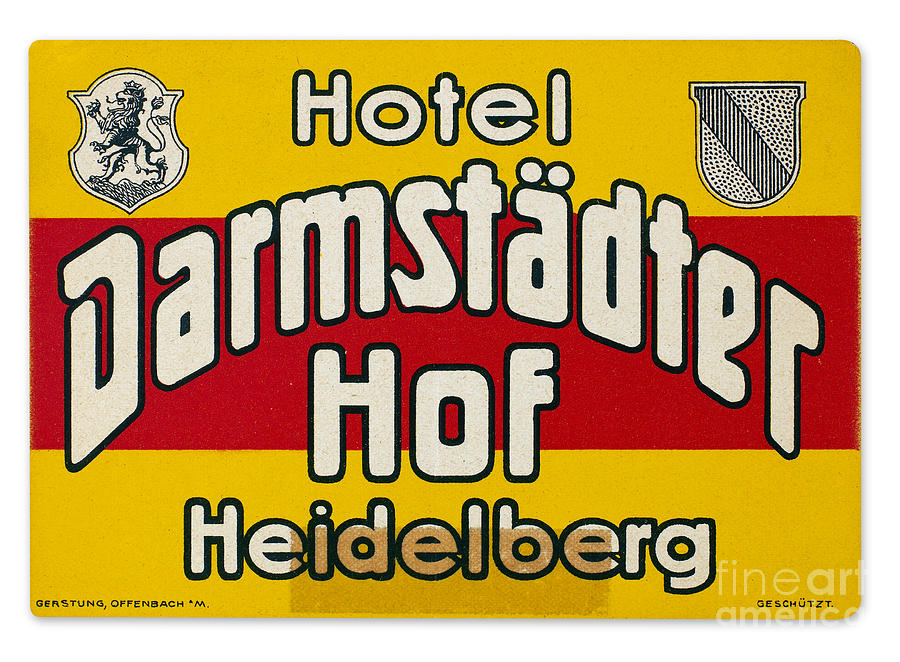 Luggage Label Photograph