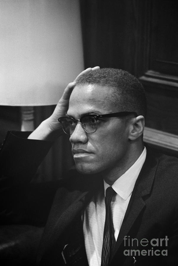 Malcolm X (1925-1965) Photograph