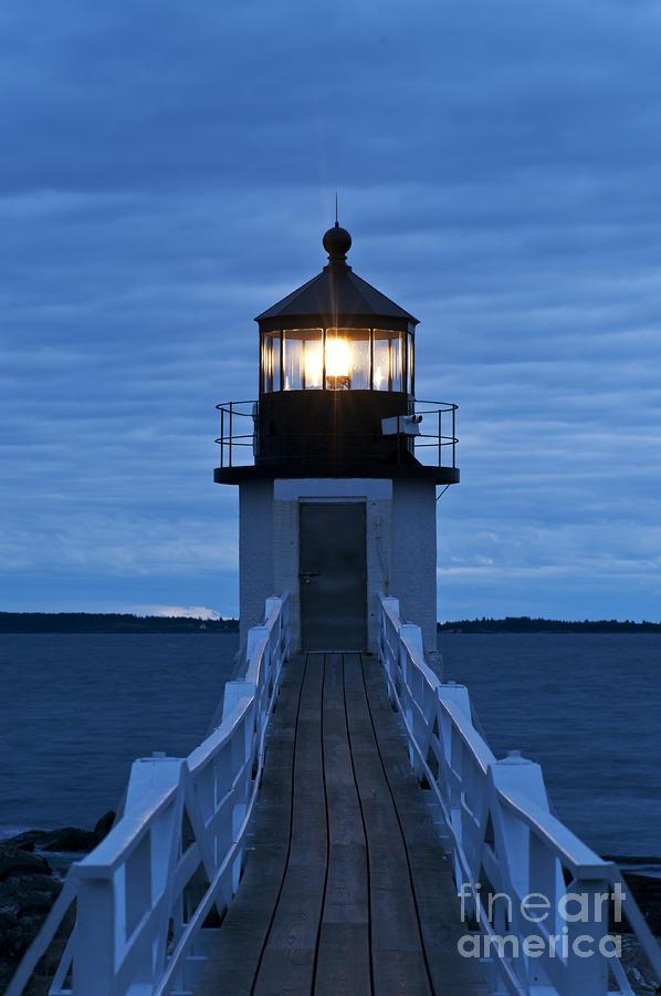 Marshall Point Light Photograph