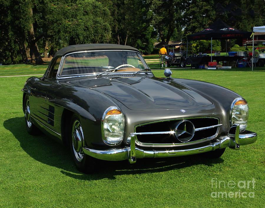 Mercedes 300 Sl Photograph