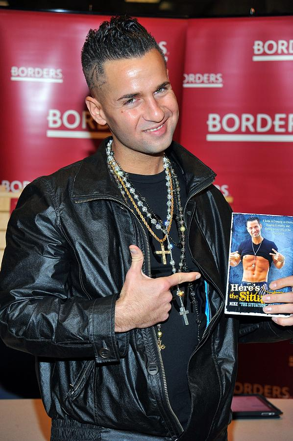 Mike ''the Situation'' Sorrentino Photograph - Mike The Situation Sorrentino by Everett