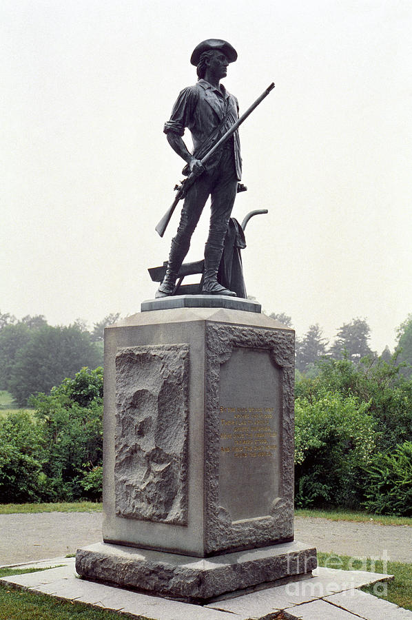 Minutemen Soldier Photograph