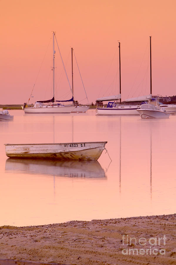 Misty Morning Osterville Cape Cod Photograph  - Misty Morning Osterville Cape Cod Fine Art Print