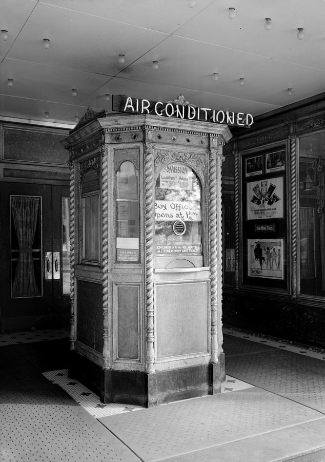 Movie Theaters, The Garden Theater Photograph