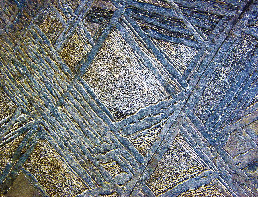 Muonionalusta Meteorite, Macrophotograph Photograph