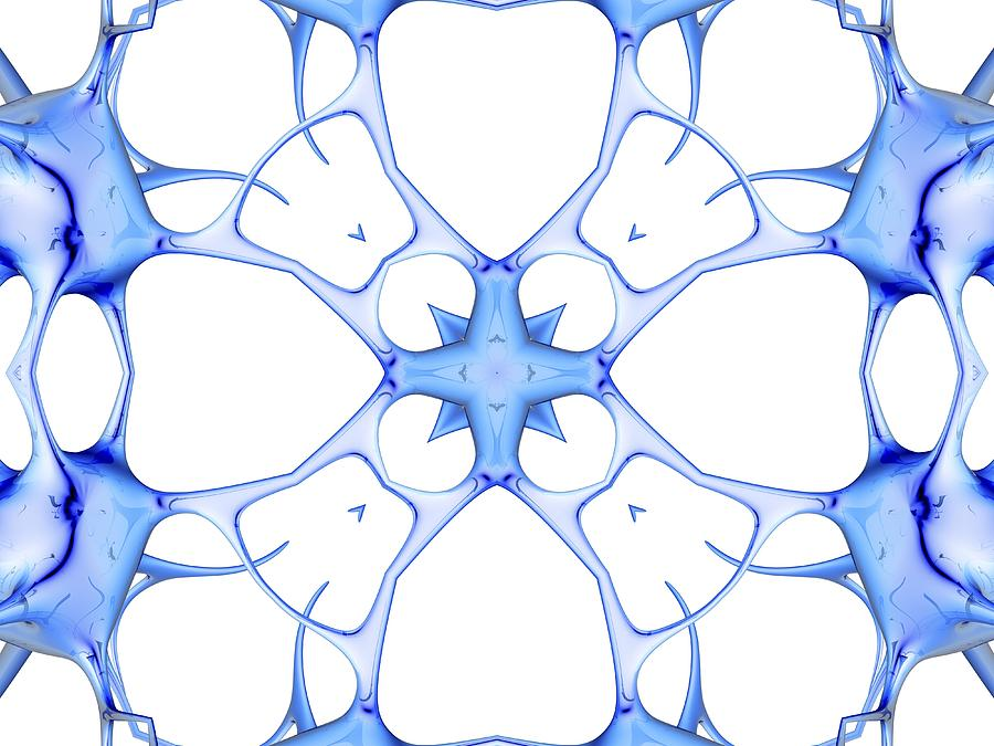 Neurons, Kaleidoscope Artwork Photograph