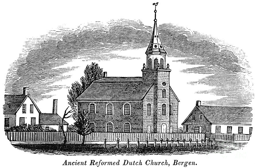 New Jersey: Church, 1844 Photograph