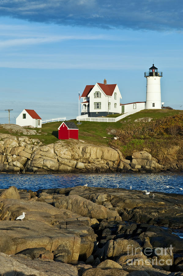Nubble Light Photograph