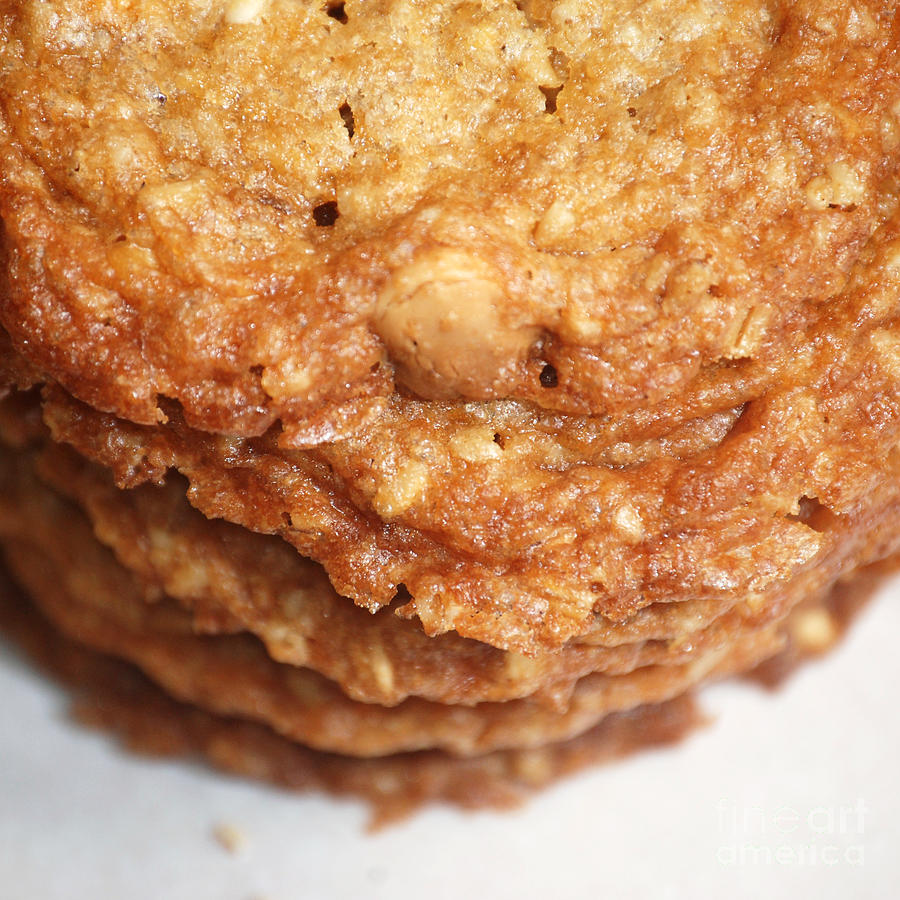 Oatmeal Photograph - Oatmeal Cookies by HD Connelly
