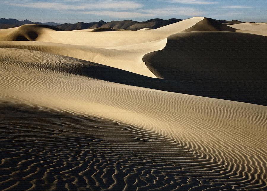 Oceano Dunes Digital Art