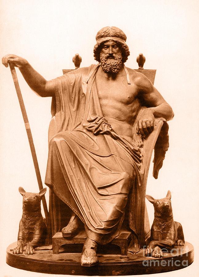 Odin, Norse God Photograph