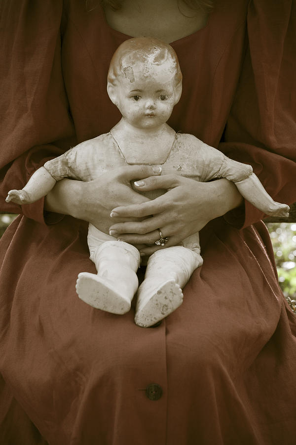 Old Doll Photograph  - Old Doll Fine Art Print
