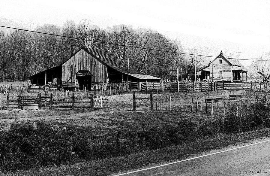 Old Johnston Home Place Photograph