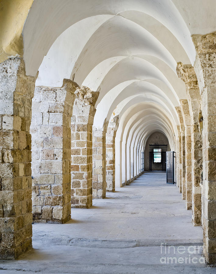 Ottoman-style Arched Corridor Photograph