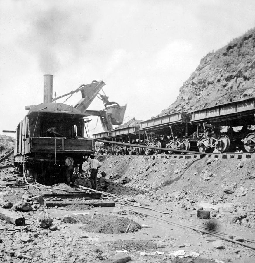 Panama Canal - Construction - C 1910 Photograph
