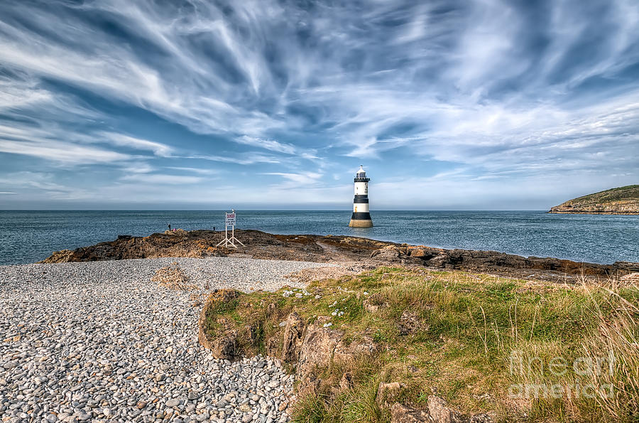 Anglesey Photograph - Penmon Point by Adrian Evans