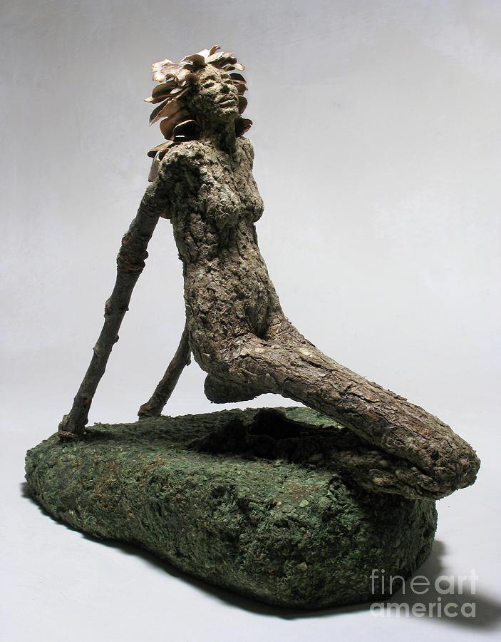 Art Sculpture - Placid Efflorescence by Adam Long