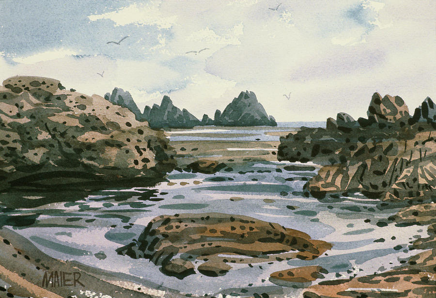 Point Lobos Painting  - Point Lobos Fine Art Print