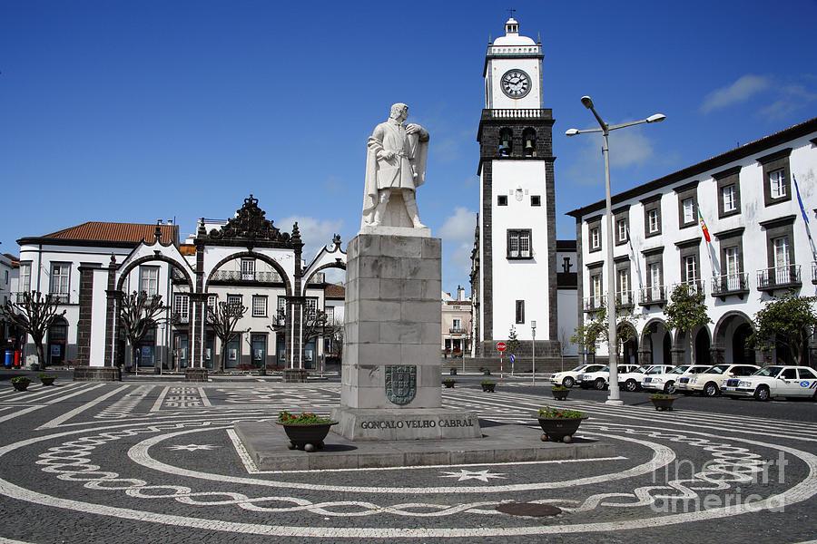 Architecture Photograph - Ponta Delgada by Gaspar Avila