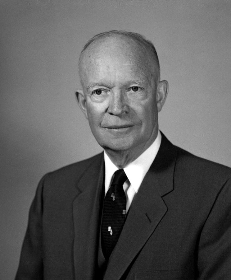 President Dwight Eisenhower  Photograph  - President Dwight Eisenhower  Fine Art Print