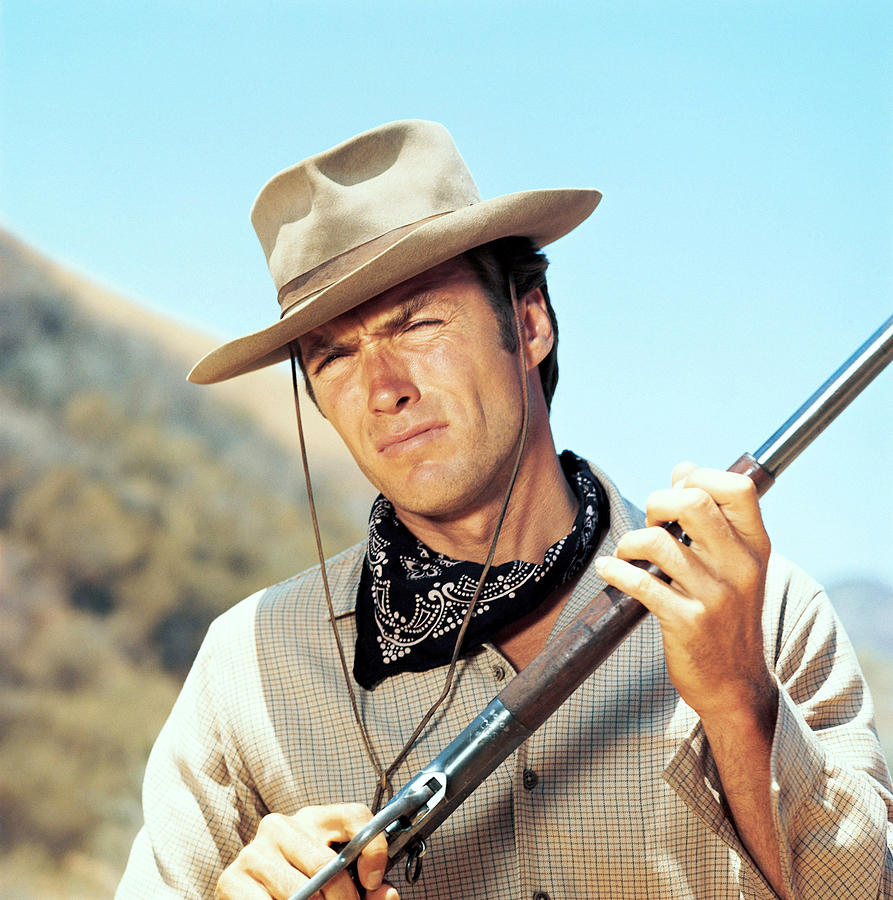 Rawhide, Clint Eastwood, 1959-66 Photograph