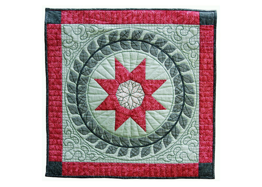 Red Star Tapestry - Textile