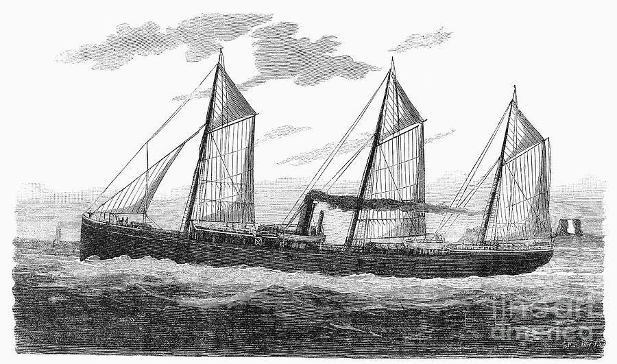 Refrigerated Ship, 1876 Photograph