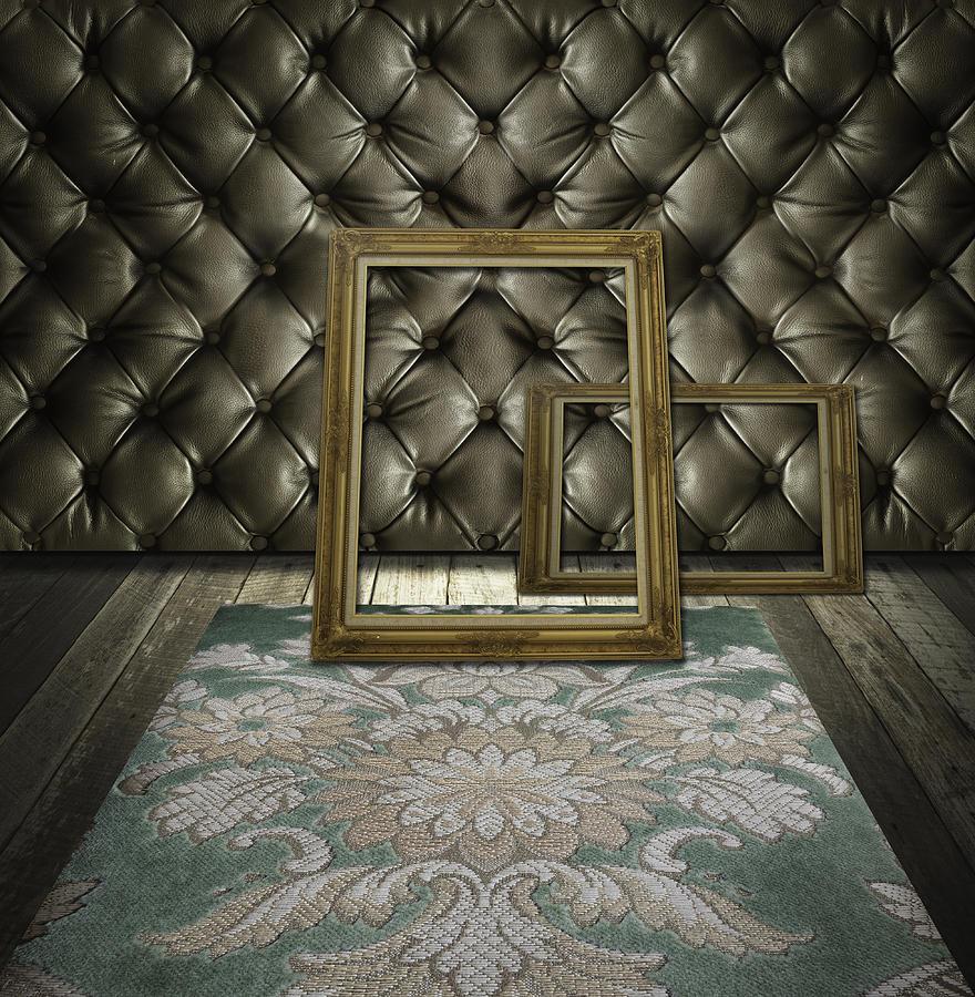 Retro Room Interior Photograph