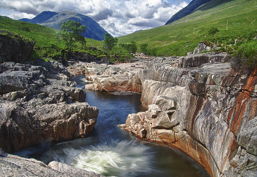 River Etive Photograph  - River Etive Fine Art Print