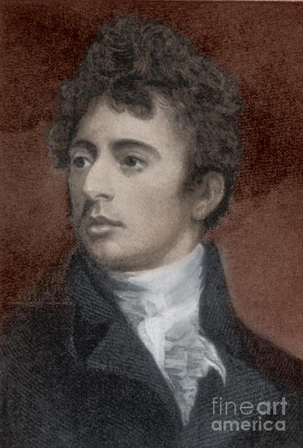 Robert Southey, English Poet Laureate Photograph