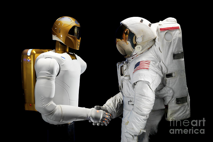 Robonaut 2, A Dexterous, Humanoid Photograph